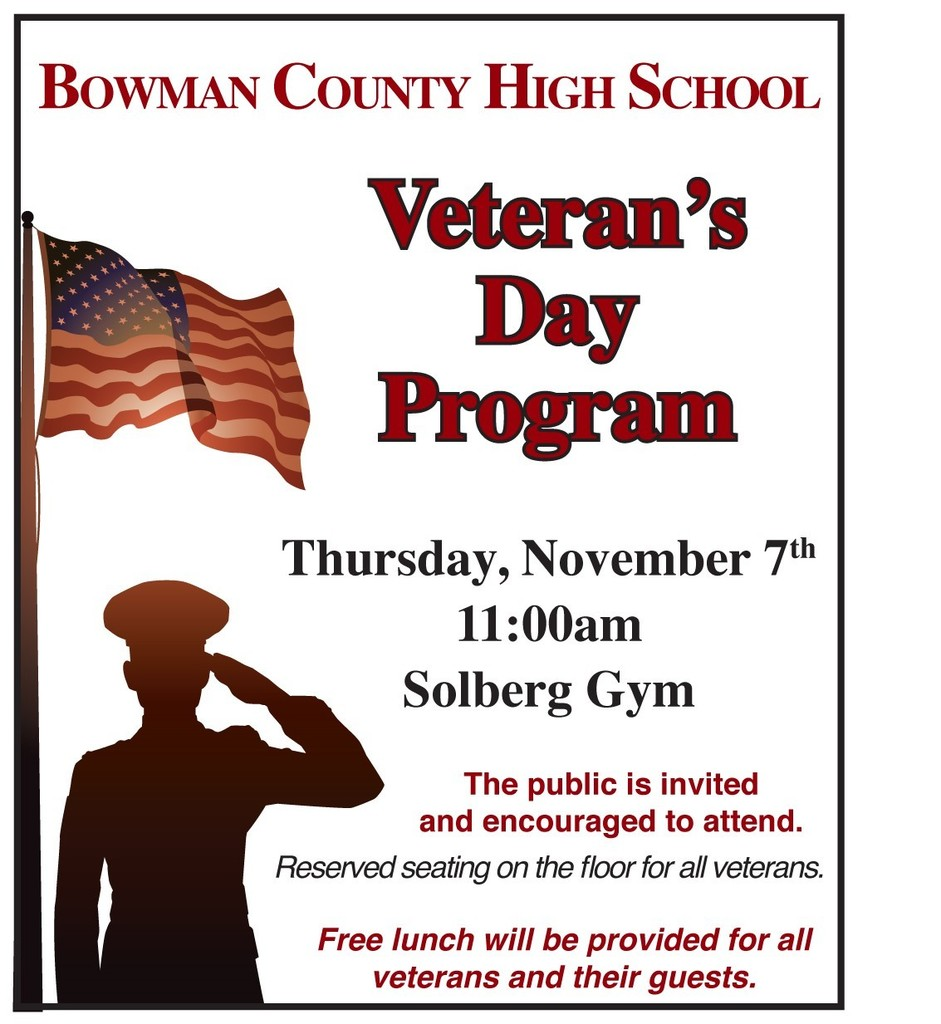 Veteran's Day Program 2019